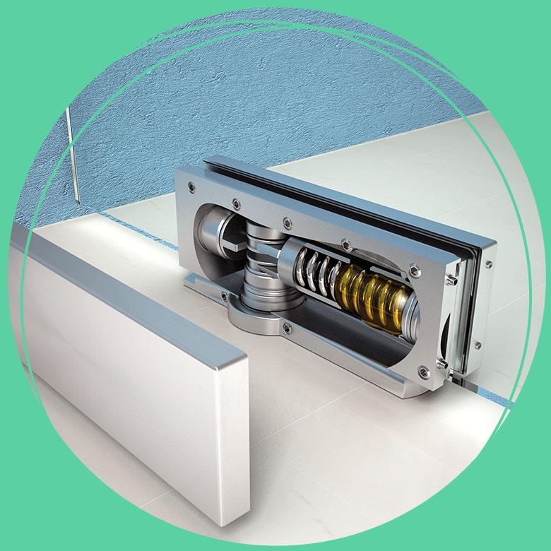 hydraulische scharnier
