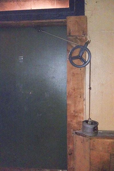tegengewicht deur