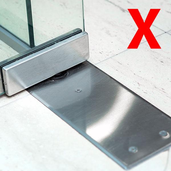Vloerveren voor glazen deuren verdwijnen uit de markt.